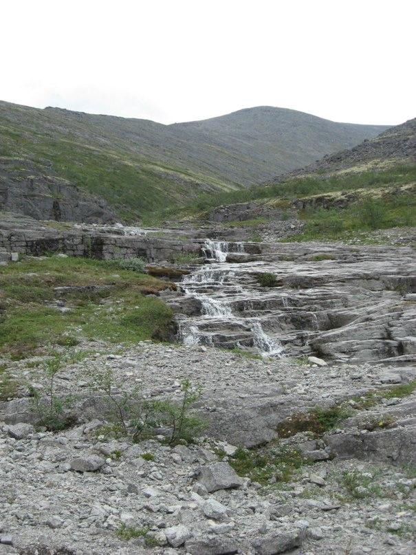 На пути к перевалу Северный Чорр-гор