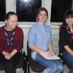 Кристина, Алина и Вика